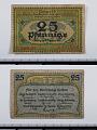View 25 Pfennige Note, Beuthen, Germany, 1919 digital asset number 2