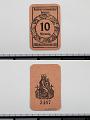 View 10 Pfennig Note, Bevenson, Germany, 1921 digital asset number 2