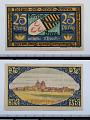 View 25 Pfennig Note, Brehna, Germany, 1921 digital asset number 1