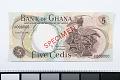 View 5 Cedis, Ghana, 1967 digital asset number 0