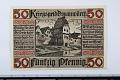 View 50 Pfennig Note, Donauworth, Germany, 1918 digital asset number 0