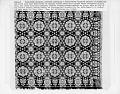 View Dennis Cosley coverlet; Jacquard, tied-Beiderwand; 1845; Pennsylvania digital asset number 1
