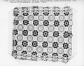 View Daniel Pursell (attrib.); coverlet; Figured and Fancy, double-cloth; c. 1840; Ohio digital asset number 1
