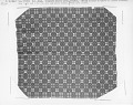 View Geometric double-cloth coverlet; 1800-1850; Pennsylvania digital asset number 1