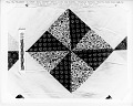 "View 1853 - 1860 Mary Augusta Rigby's ""Pinwheel"" Pieced Quilt Top digital asset number 3"