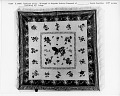 "View 1840 - 1850 Hephzibah Jenkins Townsend's ""Hawk Owl"" Appliqued Quilt digital asset number 3"