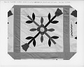 """View 1840 - 1860 Ann's """"Quilt"""" or counterpane; Womack Plantation, Virginia digital asset number 3"""