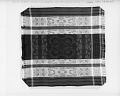 View Jacquard-woven tablecloth; 1850-1880; USA digital asset number 1