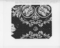 """View """"Agriculture and Manufacture,"""" Figured and Fancy, double-cloth coverlet; 1840; New York digital asset number 2"""
