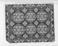 """View """"Agriculture and Manufacture,"""" Figured and Fancy, double-cloth coverlet; 1840; New York digital asset number 3"""