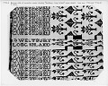 View Coverlet; Figured and Fancy, double cloth; 1817; New York digital asset number 3