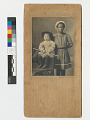 View Young African American Nanny with Caucasian Boy digital asset number 1