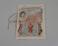 View Teacher Maude Mabel Dunkelberger's 1906 Souvenir Card for District No. 1 Public School, Cherokee, Iowa digital asset number 0