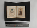 View pages, carte-de-visite album digital asset: Left: 2018.0124.05a page one verso (back side). Right: 2018.0124.05a page two recto (front)