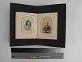 View pages, carte-de-visite album digital asset: Left: 2018.0124.05b page three verso (back side). Right: 2018.0124.05b page four recto (front)