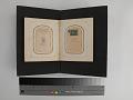 View pages, carte-de-visite album digital asset: Left: 2018.0124.05f page five verso (back side). Right: 2018.0124.05f page six recto (front)