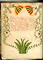 View George Lauck's Manuscript Weave Pattern Book; Pennsylvania, 1805-1829 digital asset number 3