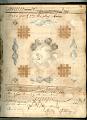 View George Lauck's Manuscript Weave Pattern Book; Pennsylvania, 1805-1829 digital asset number 14