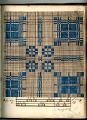 View George Lauck's Manuscript Weave Pattern Book; Pennsylvania, 1805-1829 digital asset number 44
