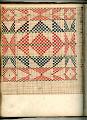 View George Lauck's Manuscript Weave Pattern Book; Pennsylvania, 1805-1829 digital asset number 83