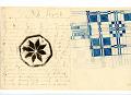 View George Lauck's Manuscript Weave Pattern Book; Pennsylvania, 1805-1829 digital asset number 96