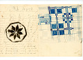 View George Lauck's Manuscript Weave Pattern Book; Pennsylvania, 1805-1829 digital asset number 97