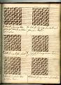 View George Lauck's Manuscript Weave Pattern Book; Pennsylvania, 1805-1829 digital asset number 134