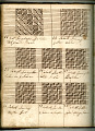 View George Lauck's Manuscript Weave Pattern Book; Pennsylvania, 1805-1829 digital asset number 137