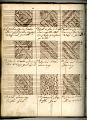 View George Lauck's Manuscript Weave Pattern Book; Pennsylvania, 1805-1829 digital asset number 141