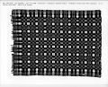 "View ""Washington Beauty"" Geometric Double-cloth Coverlet; 1800-1850 digital asset number 1"