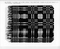 "View ""Washington Beauty"" Geometric Double-cloth Coverlet; 1800-1850 digital asset number 2"