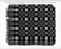 "View ""Washington Beauty"" Geometric Double-cloth Coverlet; 1800-1850 digital asset number 3"