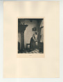 View Photographs from Life in Old Dutch Costume digital asset: Portfolio; photogravure, Going to the Cellar