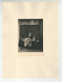 View Photographs from Life in Old Dutch Costume digital asset: Portfolio; photogravure, Who is There?