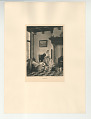 View Photographs from Life in Old Dutch Costume digital asset: Portfolio; photogravure, The First Born