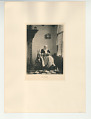 View Photographs from Life in Old Dutch Costume digital asset: Portfolio; photogravure, First Grief