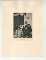 View Photographs from Life in Old Dutch Costume digital asset: Portfolio; photogravure, A Little Music
