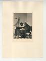 View Photographs from Life in Old Dutch Costume digital asset: Portfolio; photogravure, La Malade Imaginaire