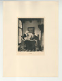 View Photographs from Life in Old Dutch Costume digital asset: Portfolio; photogravure, Return from Market