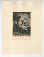 View Photographs from Life in Old Dutch Costume digital asset: Portfolio; photogravure, Grace before Meat