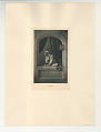View Photographs from Life in Old Dutch Costume digital asset: Portfolio; photogravure, The Love Letter