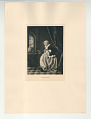 View Photographs from Life in Old Dutch Costume digital asset: Portfolio; photogravure, Teaching Polly