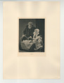 View Photographs from Life in Old Dutch Costume digital asset: Portfolio; photogravure, The Pearl Necklace