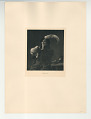 View Photographs from Life in Old Dutch Costume digital asset: Portfolio; photogravure, Head of a Young Man