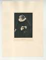 View Photographs from Life in Old Dutch Costume digital asset: Portfolio; photogravure, Portrait of Lady with Coat of Arms
