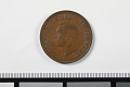 View 1 Penny, South Africa, 1937 digital asset: Coin, 1 Penny