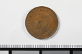 View 1 Penny, South Africa, 1946 digital asset: Coin, 1 Penny