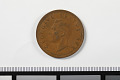 View 1 Penny, South Africa, 1951 digital asset: Coin, 1 Penny