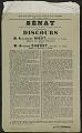 View Senat Extrait Du Proces-Verbal De La Seance Du Jeudi 5 Avril 1917 digital asset number 0