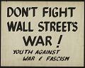 View Don't Fight Wall Street's War! digital asset number 1